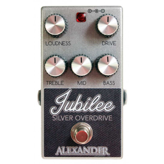 New Gear Day Alexander Pedals Jubilee Silver Overdrive Guitar Effects Pedal