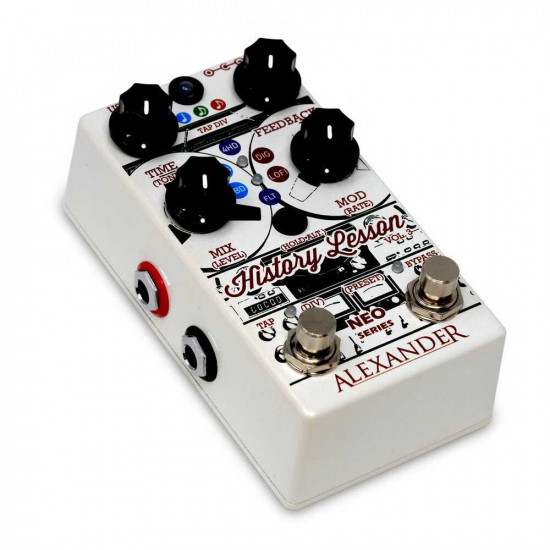 Alexander Pedals History Lesson Vol. 3 Delay Guitar Effects Pedal