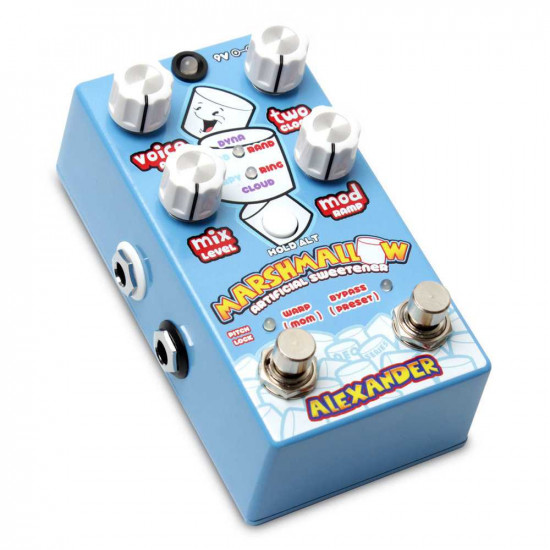 New Gear Day Alexander Pedals Marshmallow Pitch Shifter Guitar Effects Pedal