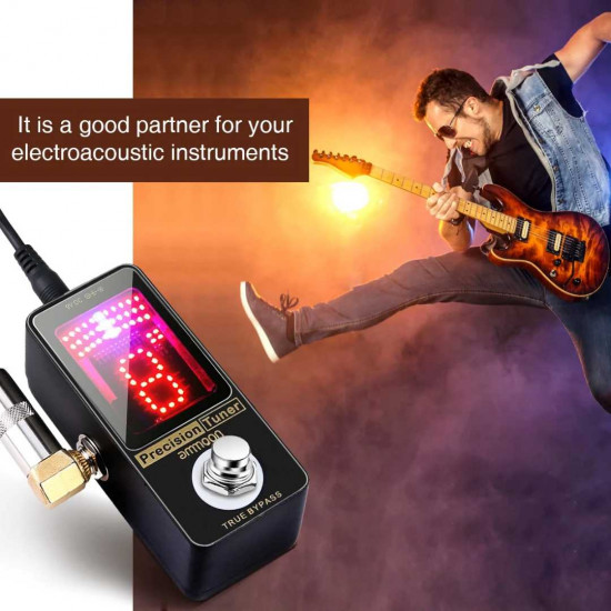 New Gear Day Ammoon Precision Chromatic Tuner Pedal