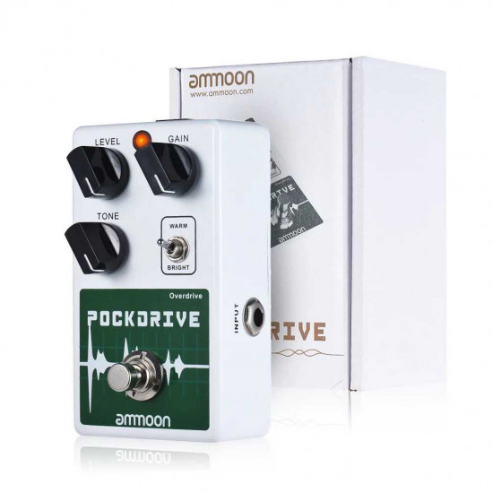 New Gear Day Ammoon POCKDRIVE Classic Overdrive Guitar Effects Pedal
