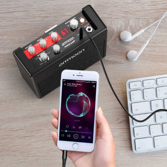 New Gear Day Ammoon POCKAMP Portable Guitar Amplifier