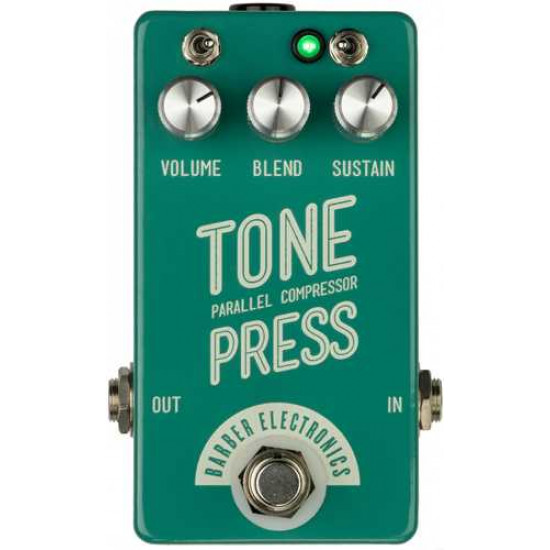 Barber Electronics Tone Press Compressor V2 in Mint Turquoise