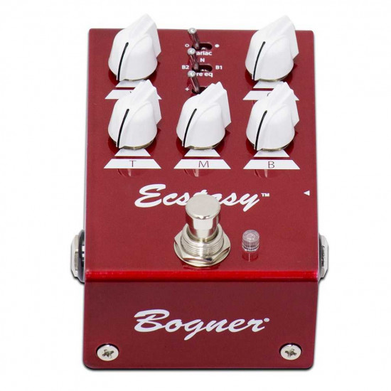 New Gear Day Bogner Ecstasy Red Mini Overdrive Pedal