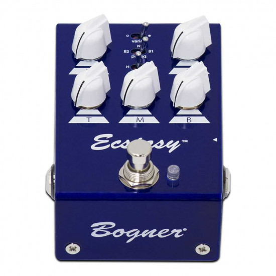 New Gear Day Bogner Ecstacy Blue Mini Overdrive Pedal