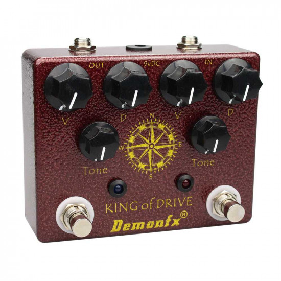 DemonFX King of Drive Guitar Effects Pedal