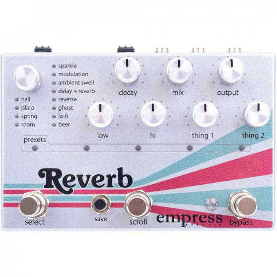 Empress Effects Reverb Guitar Effects Pedal
