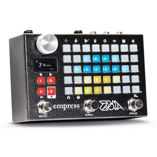 New Gear Day Empress Effects Zoia Modular Synthesizer Guitar Multi-Effects Pedal