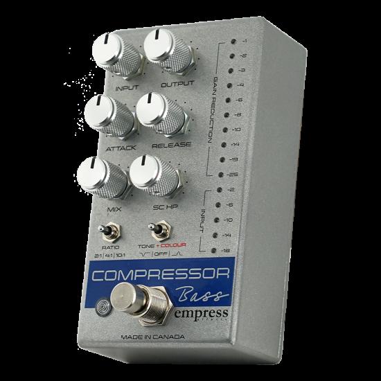Empress Effects Bass Compressor Effects Pedal