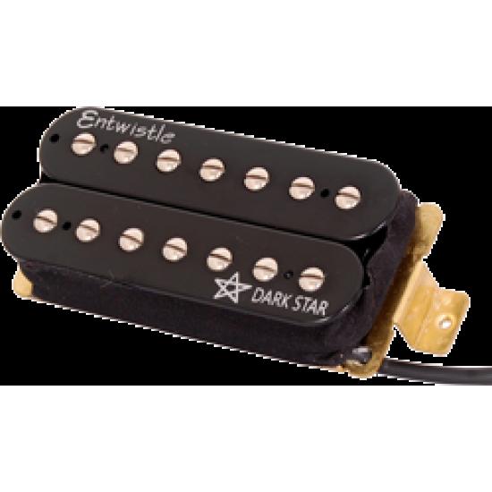 Entwistle Dark Star 7 Ceramic Bar Bridge Humbucker Nickel Pole Piece Pickup 7 String for Electric Guitar