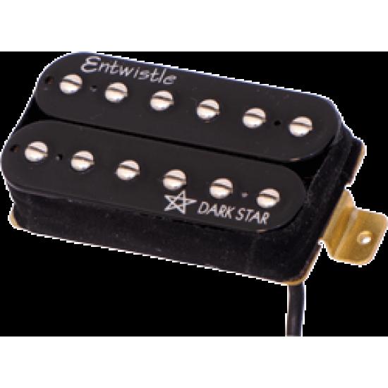 New Gear Day Entwistle Dark Star ND Neodymium Bar Neck Humbucker Nickel Pole Piece Pickup for Electric Guitar