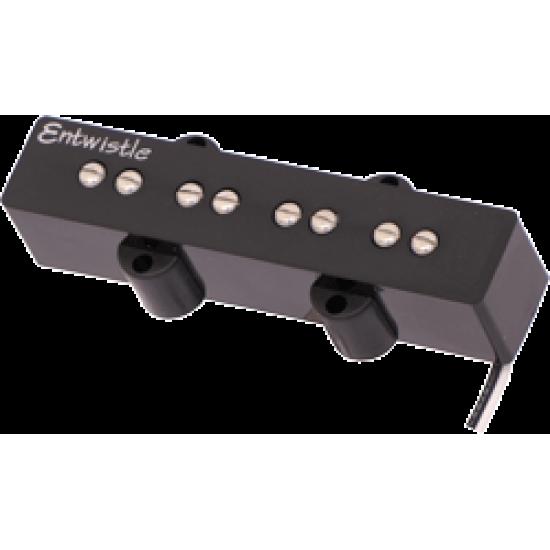 New Gear Day Entwistle JBXN Neodymium Bar Bridge Jazz Bass Nickel Pole Piece Pickup for Electric Bass Guitar
