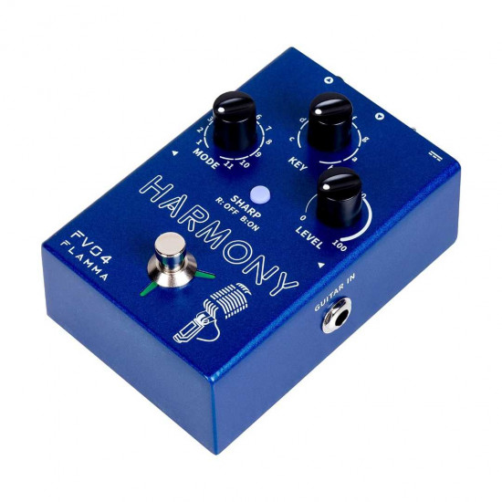 Flamma Innovation FV04 HARMONY Voice and Microphone Effects Pedal