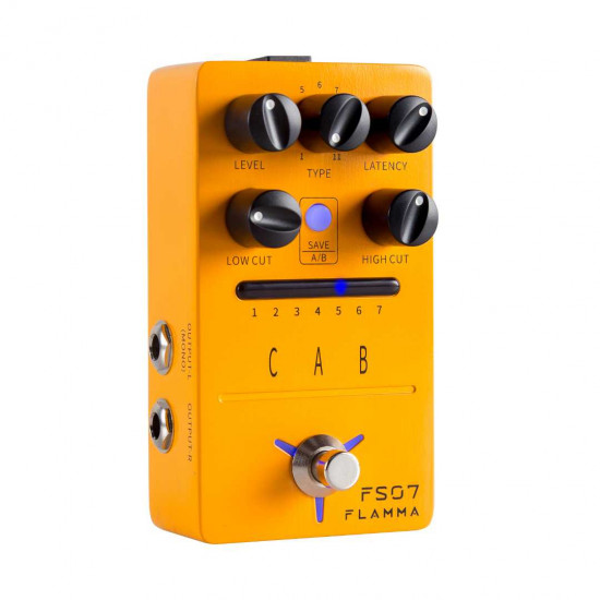 Flamma Innovation FS07 CAB Guitar Effects Pedal