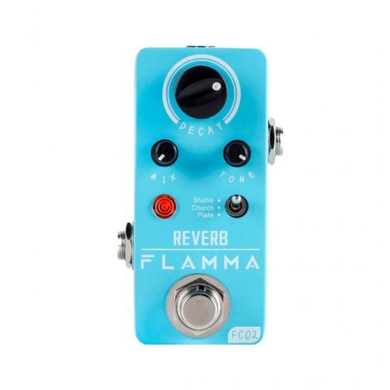 Flamma Innovation FC02 Reverb Mini Effects Pedal