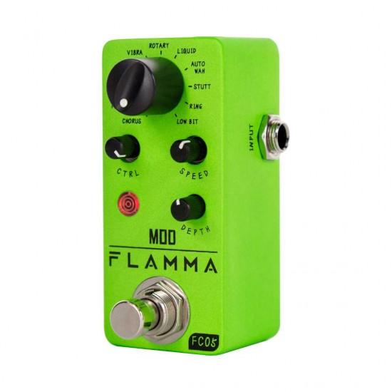 Flamma Innovation FC05 MODULATION Mini Effects Pedal