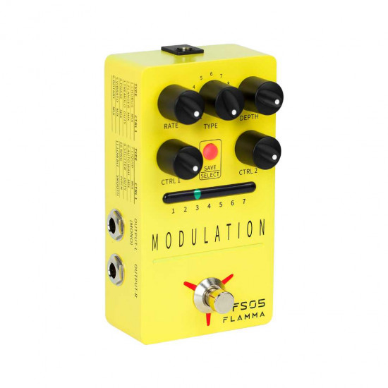 Flamma Innovation FS05 MODULATION Guitar Effects Pedal