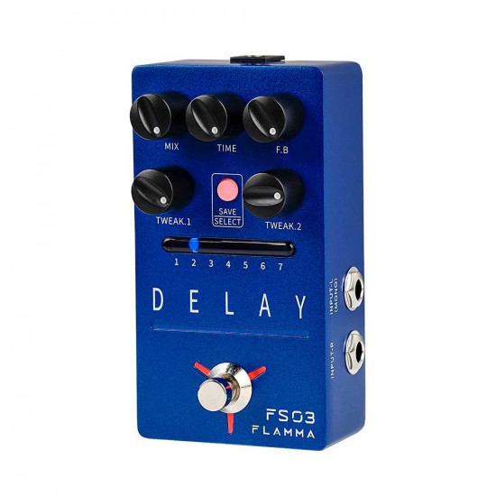 Flamma Innovation FS03 DELAY Guitar Effects Pedal