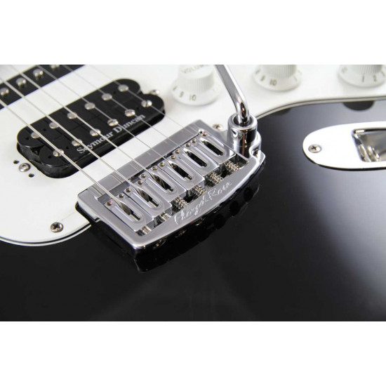 New Gear Day Floyd Rose Rail Tail Tremolo Kit Chrome for Strat Style guitars, Wide RT100W
