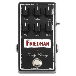 Friedman Dirty Shirley Overdrive Guitar Effects Pedal
