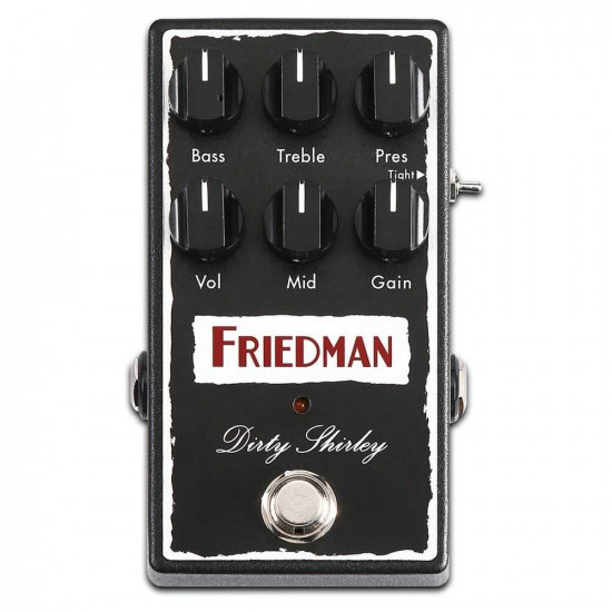 New Gear Day Friedman Dirty Shirley Overdrive Guitar Effects Pedal