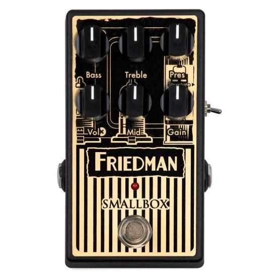 New Gear Day Friedman Smallbox Overdrive 9v-18v Pedal