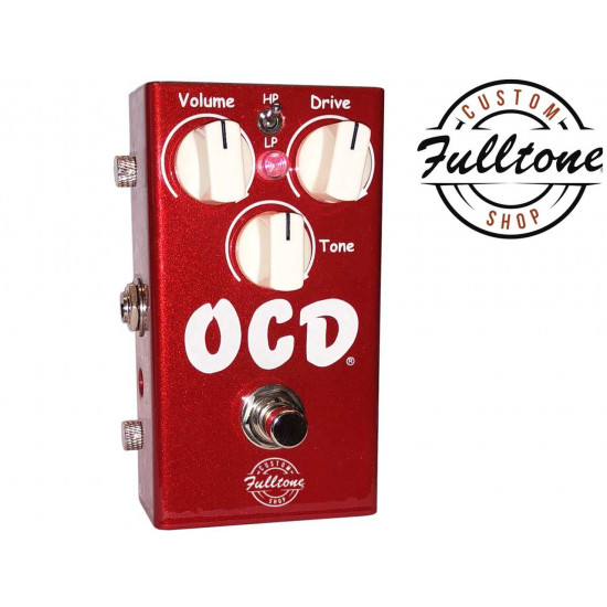 New Gear Day Fulltone OCD V2 Candy Apple Red Limited Edition