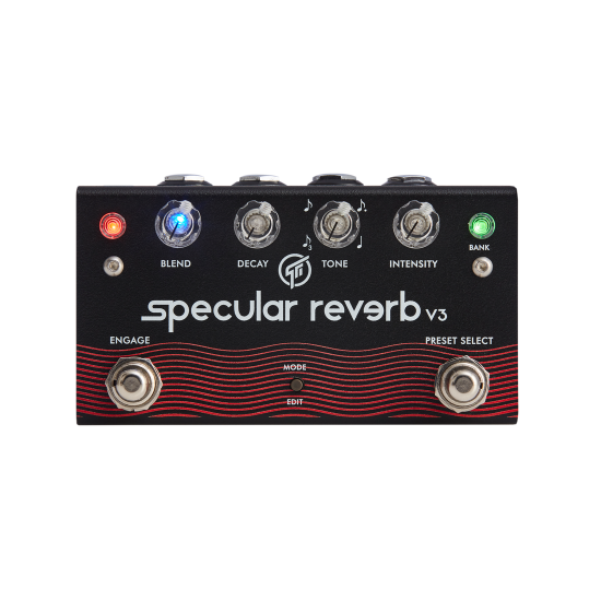 New Gear Day GFI System Specular Reverb v3 Reverb and Delay Effects Pedal