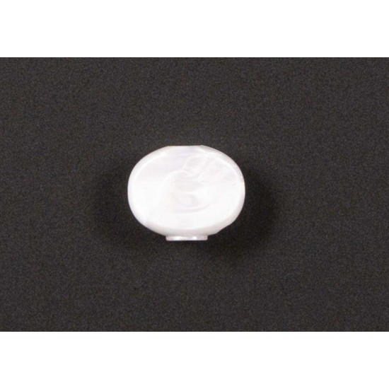 New Gear Day Genuine Hipshot Tuner Button - Pearloid A05 Style, Set of 6