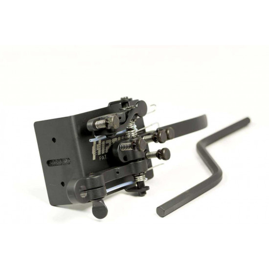 Hipshot B Bender with Drop D Lever and G Palm Lever in Black