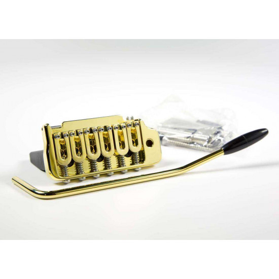 New genuine Hipshot 42100VG 2-point Gold Tremolo Bridge