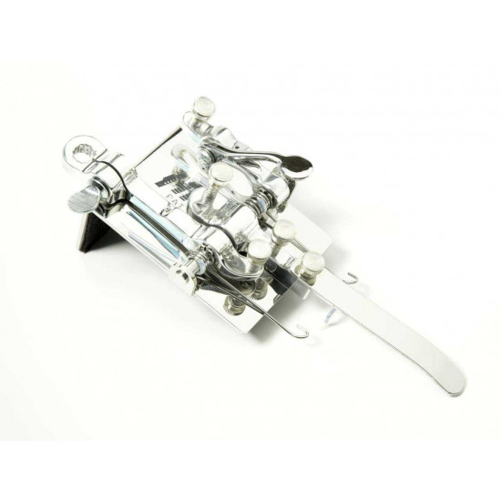 Hipshot B Bender with Drop D Lever and G Palm Lever in Chrome