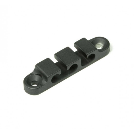 New Gear Day HIPSHOT Black 3 String Retainer for Bass Guitars, Hipshot part number 405200B