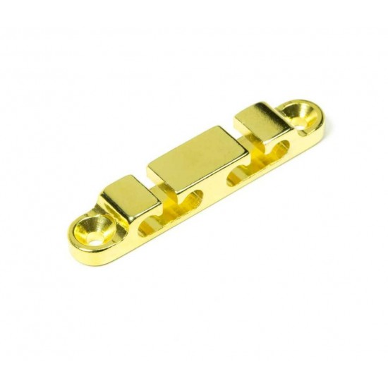 New Gear Day HIPSHOT Gold 4 String Retainer for Bass Guitars, Hipshot part number 405300G