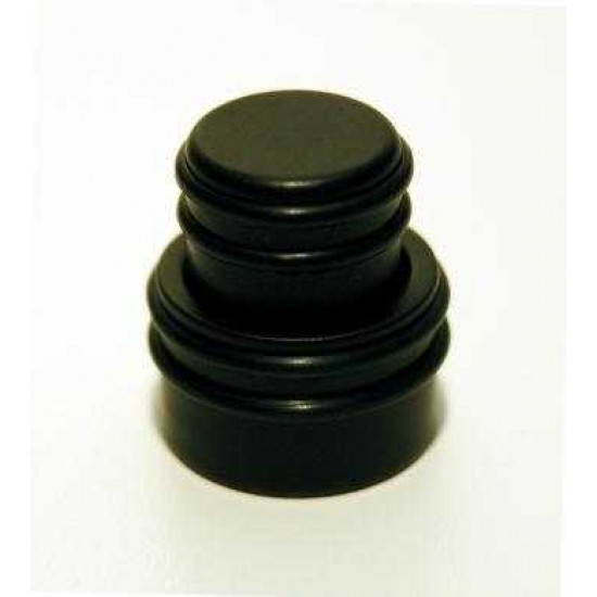 New Gear Day Hipshot O Ring Guitar Or Bass Stacked Control Knob, Black