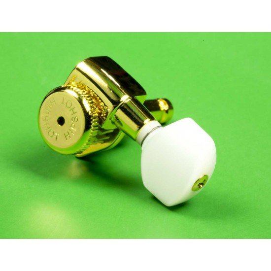 Genuine Hipshot Tuner Button - Pearloid A07 Style, Set of 6