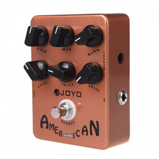 New Gear Day Joyo JF-14 American Guitar Amp Simulator Effects Pedal