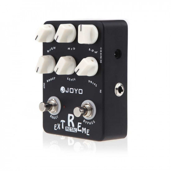 New Gear Day Joyo JF-17 Extreme MetalHigh-Gain Drive with 3-Band EQ and Gain Boost