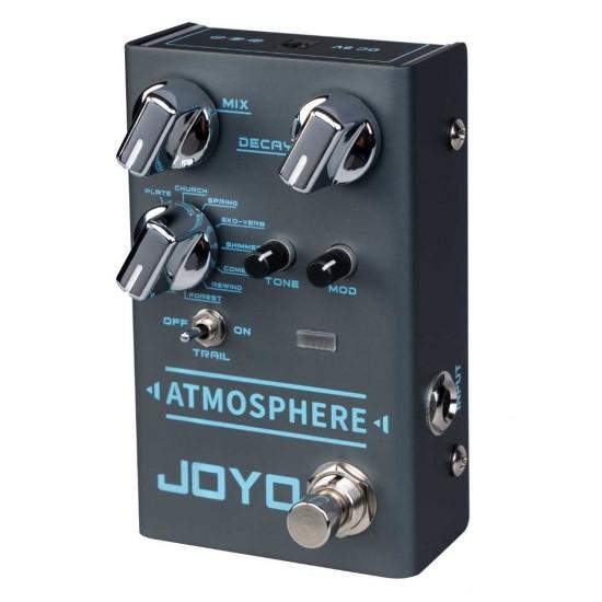 Joyo R-14 ATMOSPHERE Digital Reverb Guitar Effects Pedal