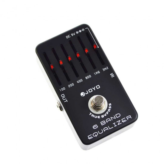 JOYO JF-11 6 Band EQ Guitar Effects Pedal