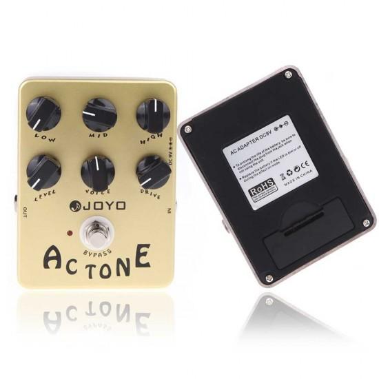 New Gear Day Joyo JF-13 AC Tone Guitar Amp Simulator Effects Pedal