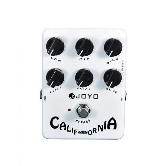 New Gear Day Joyo JF-15 California Guitar Amp Simulator Effects Pedal