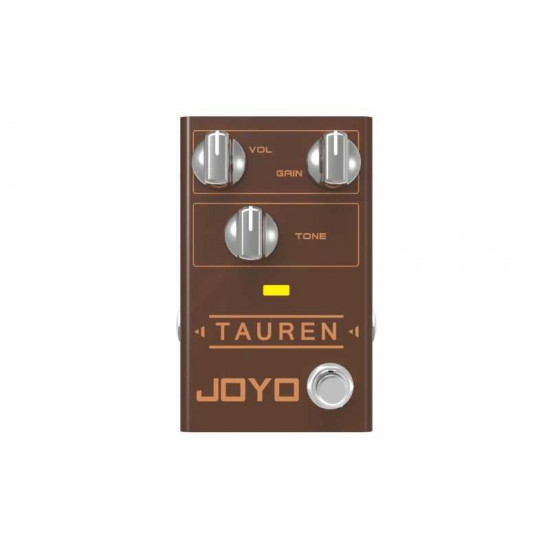 New Gear Day Joyo R-01 Tauren Overdrive Guitar Effects Pedal
