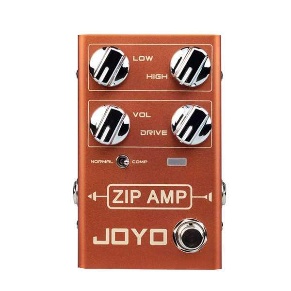 New Gear Day Joyo R-04 ZIP AMP compressor Guitar Effects Pedal