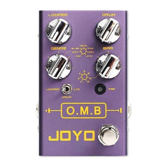 New Gear Day Joyo R-06 OMB Drum+looper Guitar Effects Pedal Drum Looper