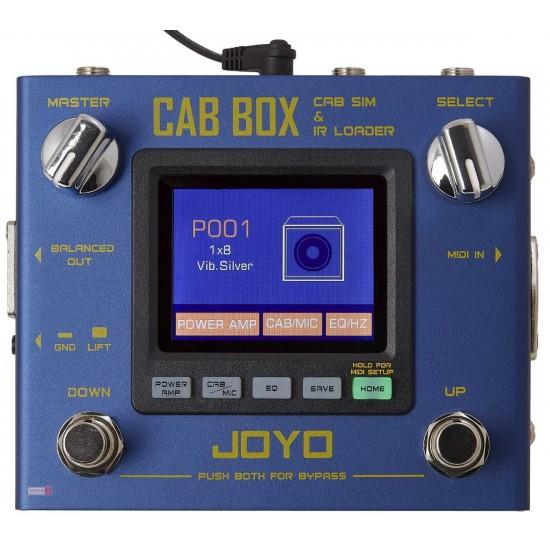 New Gear Day Joyo R-08 CAB BOX Guitar Cabinet Modelling Pedal