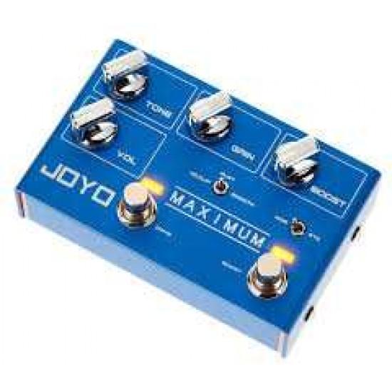 New Gear Day Joyo R-05 Maximum Overdrive Guitar Effects Pedal