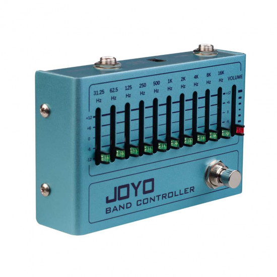 New Gear Day Joyo R-12 BAND CONTROLLER Equalizer Guitar Effects Pedal