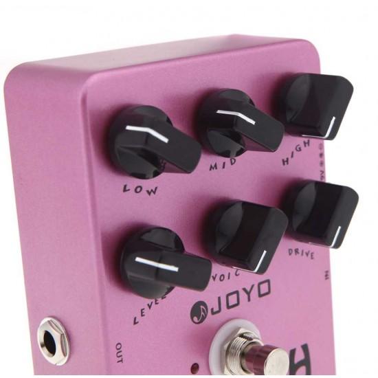 Joyo JF-16 British Guitar Amp Simulator Effects Pedal