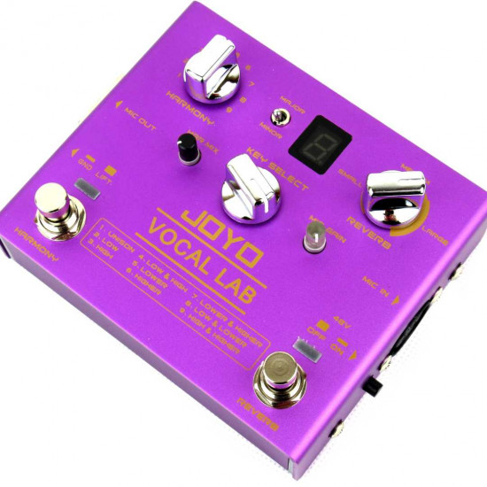 New Gear Day Joyo R-16 VOCAL LAB Harmoniser Effects Voice Pedal